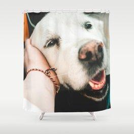 Dog by Alexandre Debiève Shower Curtain