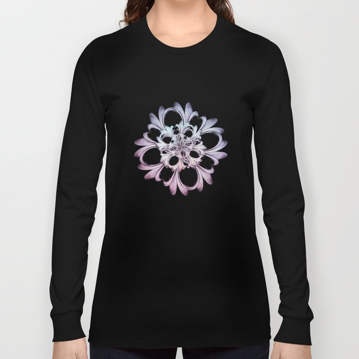 Floral abstract . Long Sleeve T-shirt