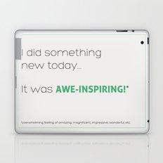 Awe-Inspiring Laptop & iPad Skin