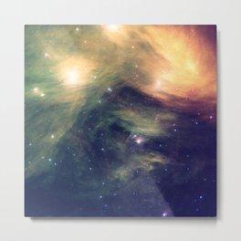 Galaxy: Pleiades Star Cluster neBULa Deep Pastels Metal Print