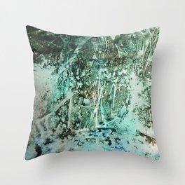 Shoreline Series #4 Throw Pillow