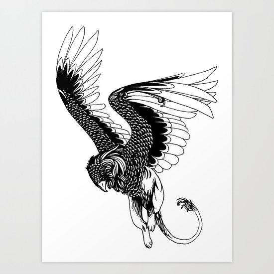 Gryffin Art Print
