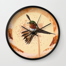 Dreaming of Spring Wall Clock
