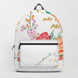 All I want is love Backpack