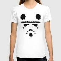 panda T-shirts featuring Panda Trooper by Danny Haas
