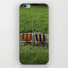 Swiss Seats iPhone Skin