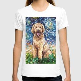 Goldendoodle Night T-shirt