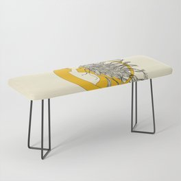 Sun and Moon Bench