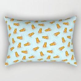 Purrpurroni and Cheese - Pizza Cat Rectangular Pillow