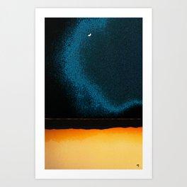New Moon - Phase II Art Print