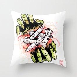 Nuclear Bonanza Throw Pillow