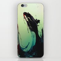 killer whale iPhone & iPod Skins featuring Killer by Swett 22