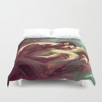 sterek Duvet Covers featuring sterek by AkiMao