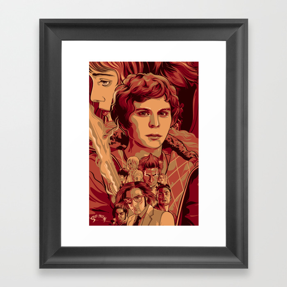 Scott Pilgrim Vs The World Framed Art Print by Aseo FRM1295769