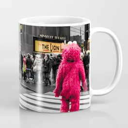 Black and colour New York City ArtWork Street Coffee Mug