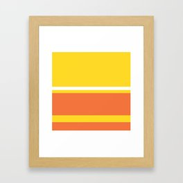 Colours of Lisa Framed Art Print