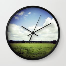 THE FARM Wall Clock