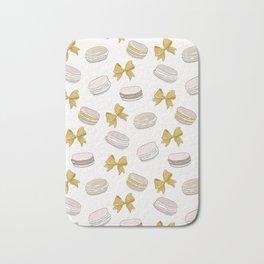 Macaron yellow Bath Mat