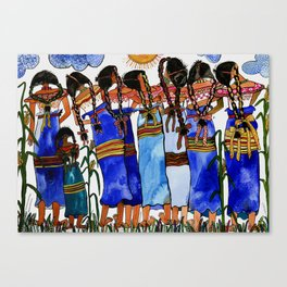 Sometimes we get tired of traditional life Canvas Print