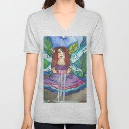 Lotus Seer Fairy Unisex V-Neck