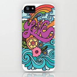 Love in Color iPhone Case
