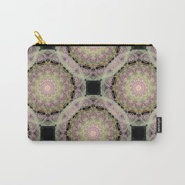 mandala pattern on the dark background Carry-All Pouch