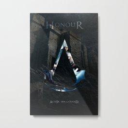 Altair Ibn-La'ahad - Master Assassin Metal Print