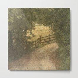 Vintage Landscape 02 Metal Print