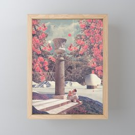 Waiting for my Loneliness to Forgive Me Framed Mini Art Print
