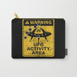 Warning, UFO activity area Carry-All Pouch
