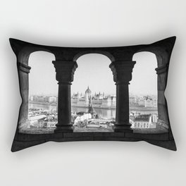 Room with a view. Rectangular Pillow