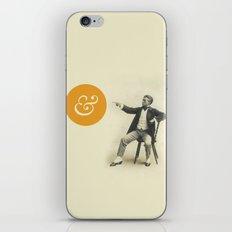 A Stern Ampersand iPhone & iPod Skin