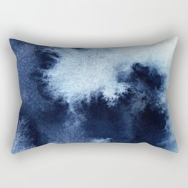 Indigo Nebula Rectangular Pillow