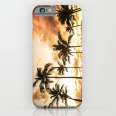 Typical Picturesque Waikiki Beach Sunset iPhone 6s Slim Case