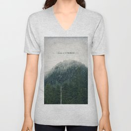 I Dream in Evergreen 2 Unisex V-Neck