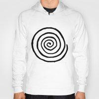 fibonacci Hoodies featuring Fibonacci by Geryes
