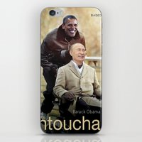 "putin iPhone & iPod Skins featuring Putin And Obama in ""Les Intouchables"" by Luigi Tarini"