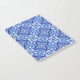For the Love of Blue - Pattern 372 Notebook