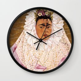 Frida Diego Wall Clock