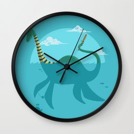"Loch""Ness"" Monster Wall Clock"