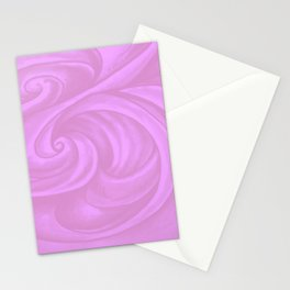 neon pink II Stationery Cards