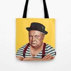 Hipstory -  Winston Churchill Tote Bag