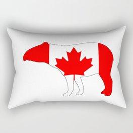 """Tapir """"Canada"""" Rectangular Pillow"""