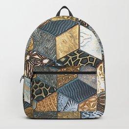 Tumbling Blocks #2 Backpack