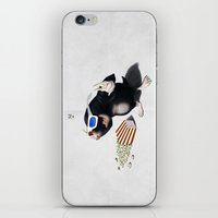 3d iPhone & iPod Skins featuring 3D by rob art | illustration
