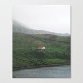Lone House Canvas Print