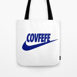 Covfefe [BLUE] Tote Bag
