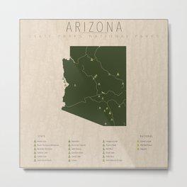 Arizona Parks Metal Print