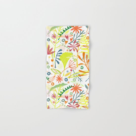 Tropical Hand & Bath Towel