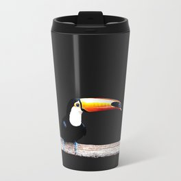 toucano black Metal Travel Mug